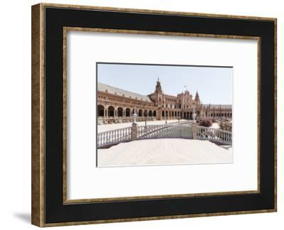 Made in Spain Collection - Plaza de Espana, Seville V-Philippe Hugonnard-Framed Photographic Print