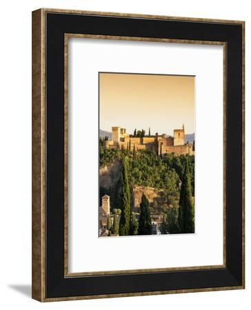 Made in Spain Collection - The Beautiful Alhambra at Sunset III-Philippe Hugonnard-Framed Photographic Print