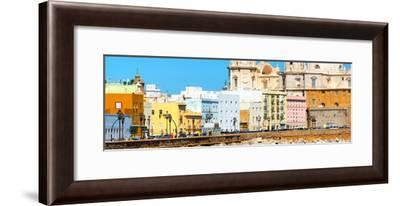 Made in Spain Panoramic Collection - Cadiz Colorful City-Philippe Hugonnard-Framed Photographic Print