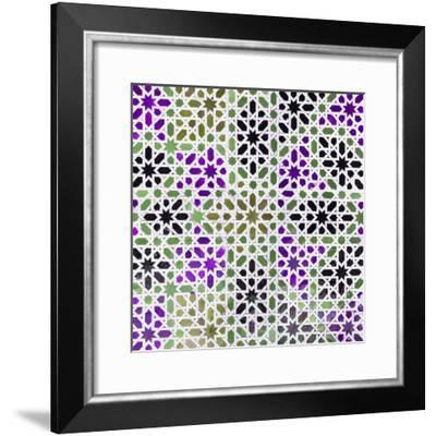 Made in Spain Square Collection - Oriental Mosaic II-Philippe Hugonnard-Framed Photographic Print
