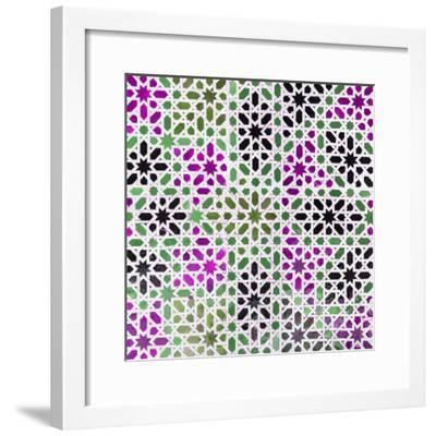 Made in Spain Square Collection - Oriental Mosaic IV-Philippe Hugonnard-Framed Photographic Print