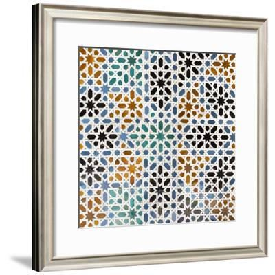 Made in Spain Square Collection - Oriental Mosaic-Philippe Hugonnard-Framed Photographic Print