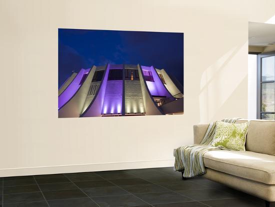 Madeira Casino at Night-Holger Leue-Giant Art Print
