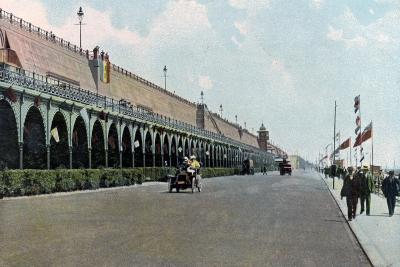 Madeira Road Motor Track, Brighton, East Sussex, C1900s-C1920s--Giclee Print