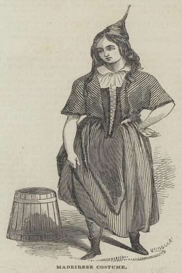 Madeirese Costume--Giclee Print