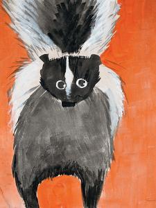 Playful Skunk by Madelaine Morris