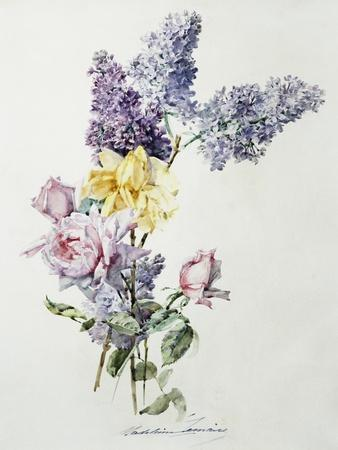 A Study of Lilac and Roses