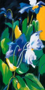 Blue Poppies by Madeleine Lemaire