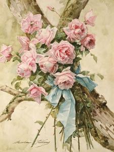 Roses by Madeleine Lemaire