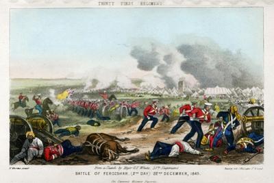 Thirty First Regiment, Battle of Ferozeshah, 2nd Day, 22nd December 1845
