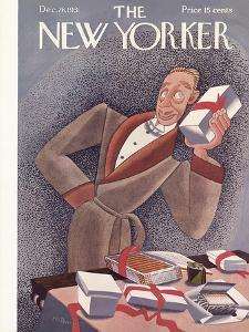 The New Yorker Cover - December 26, 1931 by Madeline S. Pereny