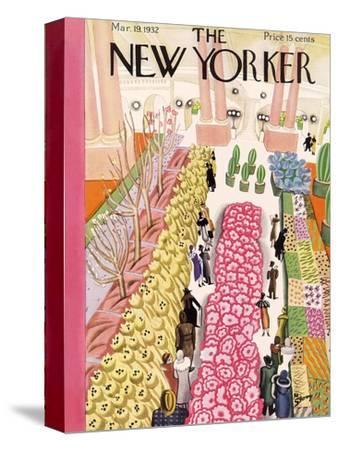 The New Yorker Cover - March 19, 1932