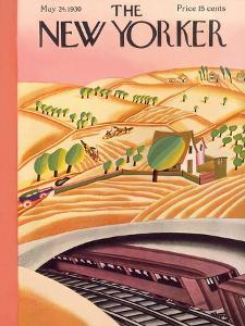 The New Yorker Cover - May 24, 1930 by Madeline S. Pereny