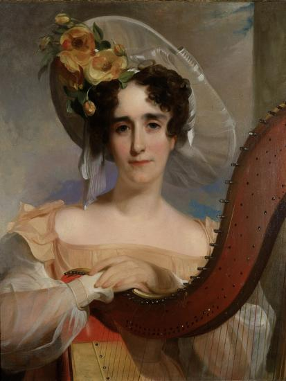 Mademoiselle Ade Sigoigne, 1829-Thomas Sully-Giclee Print