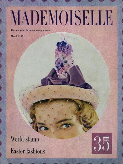 Mademoiselle Cover - March 1948-Mark Shaw-Premium Giclee Print