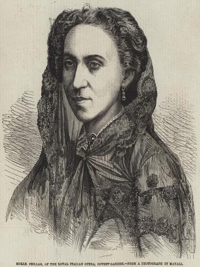 Mademoiselle Csillag, of the Royal Italian Opera, Covent-Garden--Giclee Print