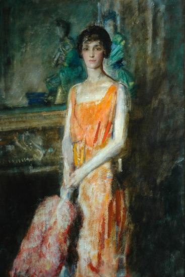 Mademoiselle De Pourtales, C.1925-Ambrose Mcevoy-Giclee Print