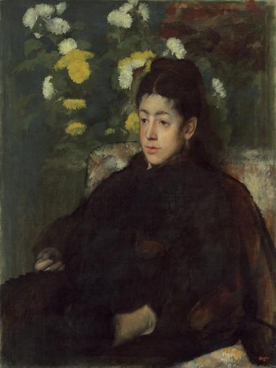 Mademoiselle Malo, c.1877-Edgar Degas-Giclee Print