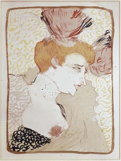 Mademoiselle Marcelle Lender-Henri de Toulouse-Lautrec-Giclee Print