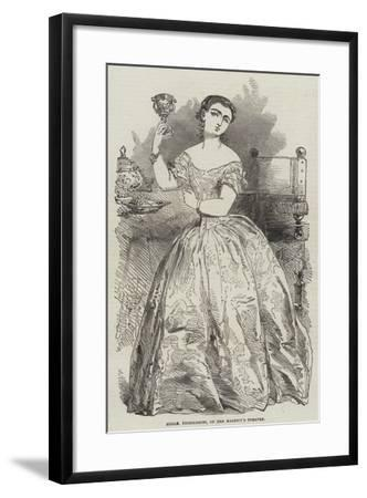 Mademoiselle Piccolomini, of Her Majesty's Theatre, 1856--Framed Giclee Print