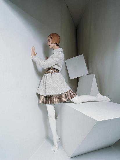 Mademoiselle - September 1967-David Mccabe-Premium Photographic Print