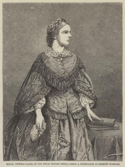 Mademoiselle Victoria Balfe, of the Royal Italian Opera--Giclee Print