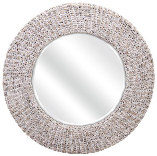 Madiera Waterhyacinth Wall Mirror--Wall Mirror