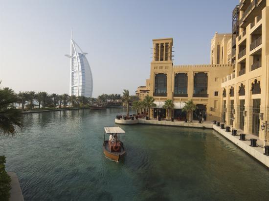 Madinat Jumeirah Hotel, Dubai, United Arab Emirates, Middle East-Amanda Hall-Photographic Print