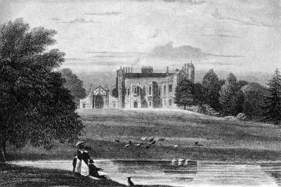 Madingley Hall, Madingley, Cambridgeshire, 19th Century--Giclee Print