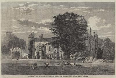 Madingley Hall--Giclee Print