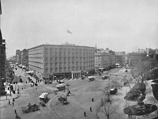 'Madison Square', 19th century-Unknown-Photographic Print