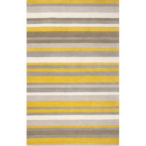 Madison Square Awning Area Rug - Gold/Ivory 5' x 7'6""