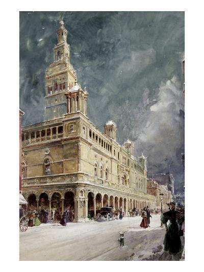 Madison Square Garden-William Louis Sonntag-Giclee Print