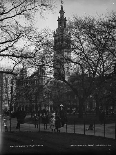 Madison Square, New York, C.1901--Photographic Print