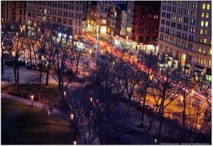 Madison Square Park Timelapse NYC
