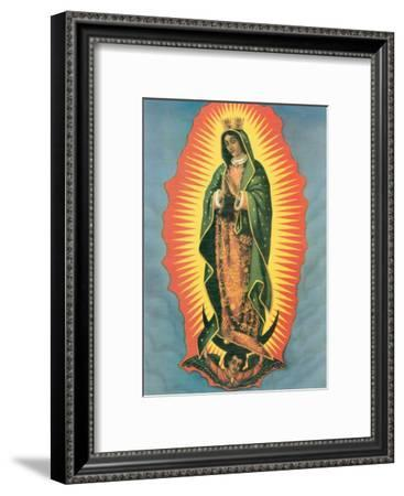 Madona--Framed Art Print