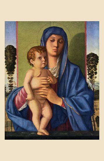 Madone et Enfants-Giovanni Bellini-Art Print