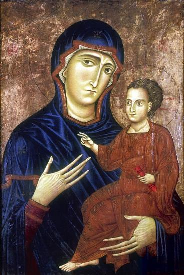Madonna and Child, 1230-Barone Berlinghier-Giclee Print