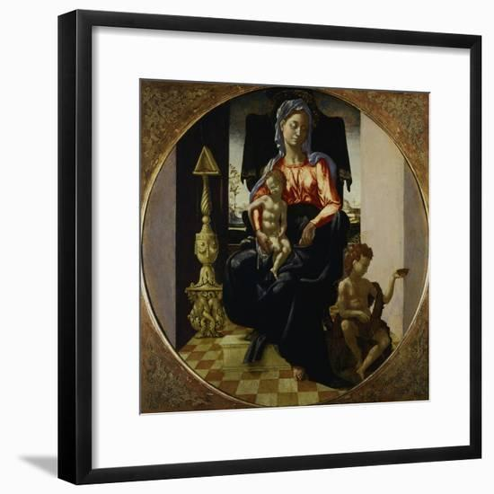 Madonna and Child, 16th Century-Antonio Mini-Framed Giclee Print