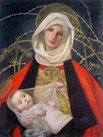 Madonna and Child, 1907-08-Marianne Stokes-Giclee Print