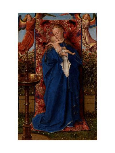 Madonna and Child at the Fountain-Jan van Eyck-Giclee Print