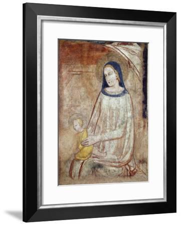 Madonna and Child, Basilica of Sant'Eustorgio, Milan, Italy--Framed Giclee Print