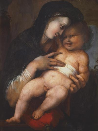 Madonna and Child, by Alonso Berruguete--Giclee Print