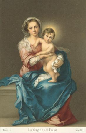 Madonna and Child by Murillo, Florence