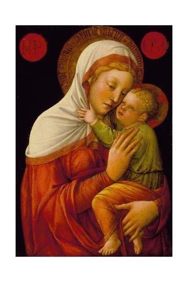 Madonna and Child, C.1465-Jacopo Bellini-Giclee Print