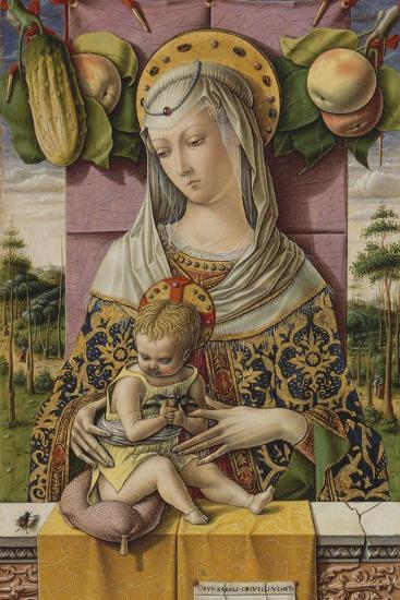 Madonna and Child, c.1480-Carlo Crivelli-Giclee Print