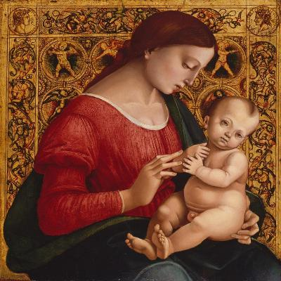 Madonna and Child, c.1505-07-Luca Signorelli-Giclee Print