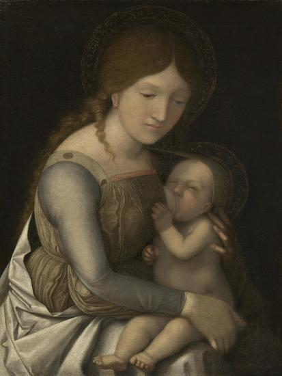Madonna and Child, C.1505-1510-Andrea Mantegna-Giclee Print