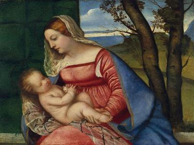 Madonna and Child, c.1508-Titian-Giclee Print
