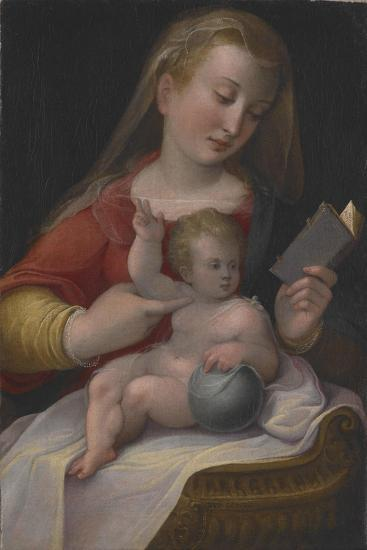 Madonna and Child, C.1580-85-Barbara Longhi-Giclee Print